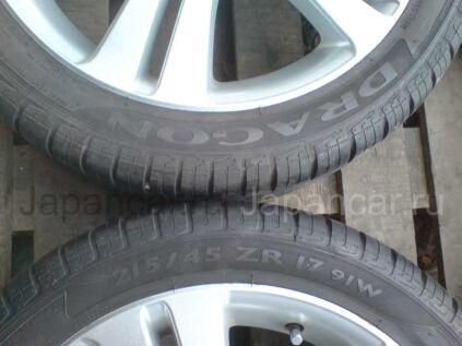 Летниe шины Yokohama dna s-drive 215/40r17 - 6000 руб.  215/40 17 дюймов б/у в Челябинске