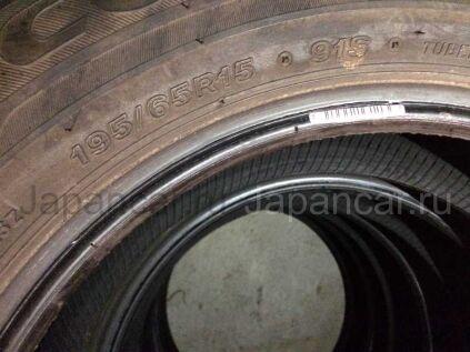 Летниe шины Bridgestone 195/65 15 дюймов б/у в Хабаровске