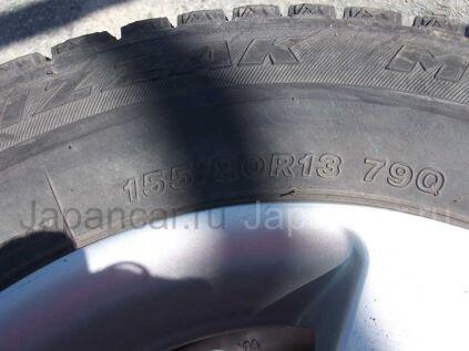 Зимние шины Bridgestone 155/80 13 дюймов б/у во Владивостоке