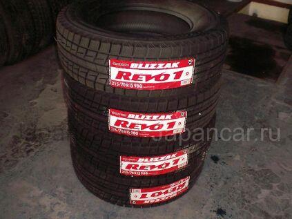 Всесезонные шины Bridgestone blizzak revo1 215/70 15 дюймов новые во Владивостоке