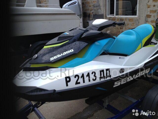 водный мотоцикл Бомбардье GTI 130 2016 года
