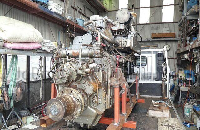 мотор стационарный MITSUBISHI S6R2F-MTK 2002 года