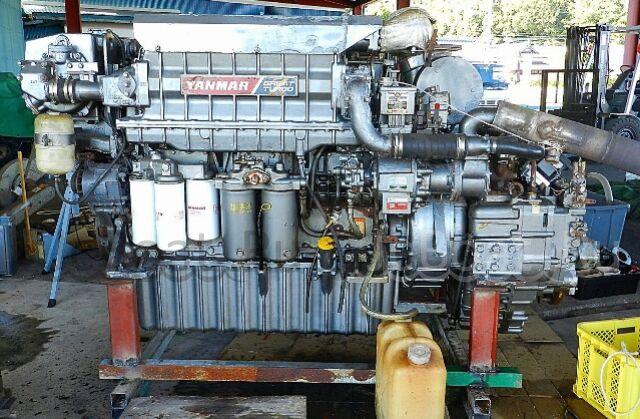 мотор стационарный YANMAR 6KXZP-GT 2000 года