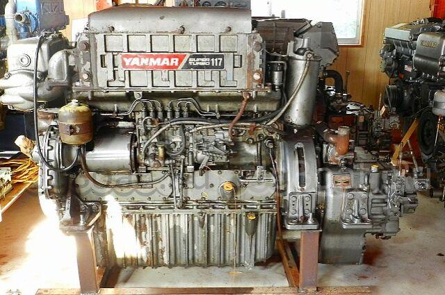 мотор стационарный YANMAR 6GHA-ST 2002 года