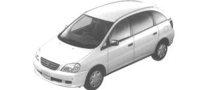 "Toyota Nadia 2.0 D-4 ""S SELECTION"" 1998 г."