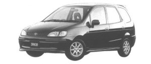 Toyota Corolla Spacio 2WD 2-3 BLACK SPORTS PACKAGE 1998 г.