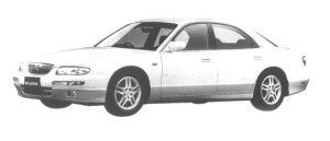 Mazda Millenia MC (2WS) 1998 г.