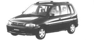 Mazda Demio LX G PACKAGE 1998 г.