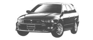 Mitsubishi Legnum VR-4 TYPE-S 1998 г.