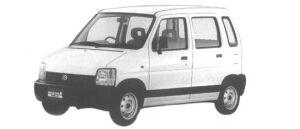 Suzuki Wagon R WIDE XE 1998 г.