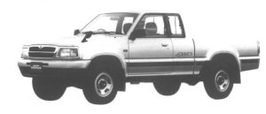 Mazda Proceed CAB PLUS 2600 4WD 1998 г.