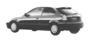 Honda Civic 3DOOR EL 1998 г.