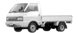Nissan Vanette Truck 2WD SUPER LOW, DOUBLE TIRE GL DIESEL 1998 г.