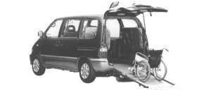 Nissan Serena PERSONAL CHAIR CAB 1998 г.