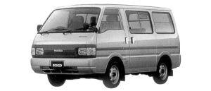 Mazda Bongo VAN LOW FLOOR 2WD 2200 DIESEL 4DOOR GL 1998 г.