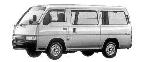 Nissan Caravan 2WD LIGHT VAN (LOW FLOOR 4DOOR 3200DX-S) 1998 г.