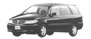 Nissan Presage CII (2WD 2500 DIESEL) 1998 г.
