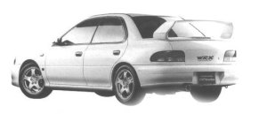 Subaru Impreza SPORT SEDAN WRX TYPE RA STi Ver. V 1998 г.