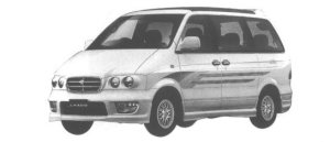 Nissan Largo HIGHWAY STAR (2WD GASOLINE 2400) 1998 г.