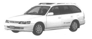 Toyota Corolla Wagon TOURING WAGON BZ TOURING 1998 г.