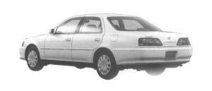 Toyota Cresta 2.0 SUPER SALOON 1998 г.