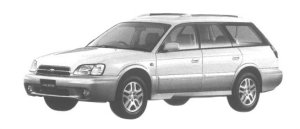 Subaru Legacy Lancaster  1998 г.