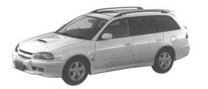 Toyota Caldina GT-T TOURING VERSION CAR 1998 г.