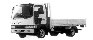 Hino Ranger FB FULL LOW FLOOR 1998 г.