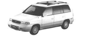 Mazda MPV TYPE R 3000 V6 GASOLINE 1998 г.