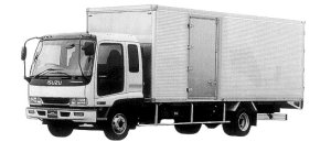 Isuzu Forward DRY VAN 210PS 3.75T 1998 г.
