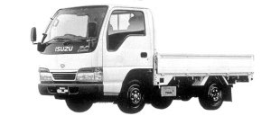 Isuzu Elf 1.5T FULL FLAT LOW STANDARD BODY 1998 г.