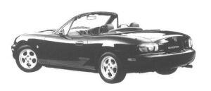 Mazda Roadster 1800 S 1998 г.