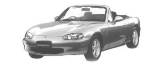Mazda Roadster 1600 SPECIAL PACKAGE 1998 г.