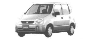 Honda Capa C TYPE 1998 г.