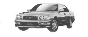 Nissan Cedric V25 TWINCAM TURBO EXTRA EDITION 1998 г.