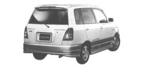 Daihatsu Pyzar CUSTOM 4WD 1998 г.
