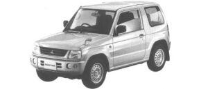 Mitsubishi Pajero Mini X 1998 г.
