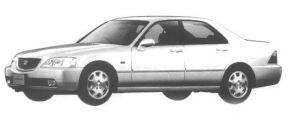 Honda Legend EURO EXCLUSIVE 1998 г.