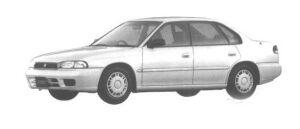 Subaru Legacy TOURING SEDAN LX 1998 г.