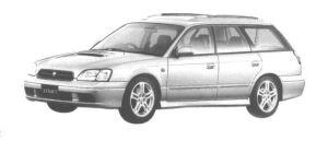 Subaru Legacy TOURING GT-B 1998 г.