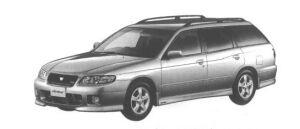 Nissan Avenir GT4-Z (TWINCAM TURBO 2000) 1998 г.