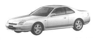 Honda Prelude SiR 1998 г.