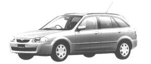 Mazda Familia S-WAGON R-4 1998 г.