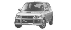 Daihatsu Mira TR 1998 г.