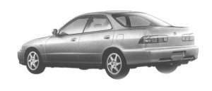 Honda Integra 4DOOR HARD TOP SiR-G 1998 г.