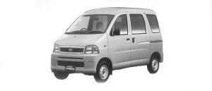 Daihatsu Hijet VAN CARGO DELUXE 4WD 2001 г.