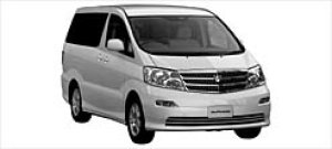"""Toyota Alphard G MX """"L Edition"""" 8-seaters 2003 г."""