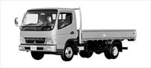 Mitsubishi Canter WIDE HIGH FLOOR, LONG BODY 2003 г.