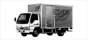 Nissan Diesel Condor 20 CNG Aluminum Van 2003 г.
