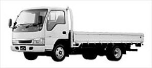 Isuzu Elf CNG Wide Cab Flat Low Long Body 2003 г.